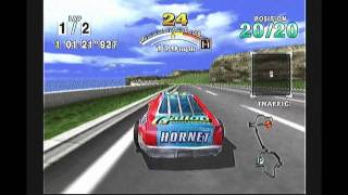 Let 39 s Play Daytona USA Sega Dreamcast HD