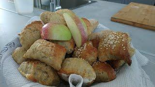 Простые и быстрые яблочные пышки