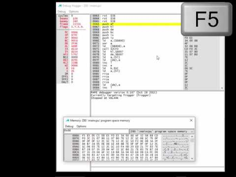 arcade ROM hacking lesson 5 Part 2: Creating a Free Play Hack (Assembly language programming)