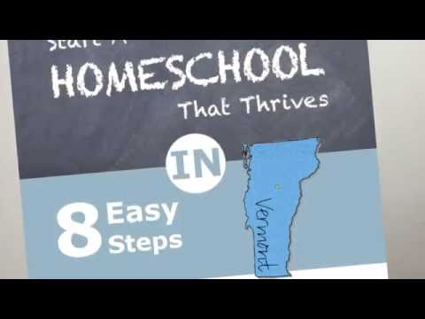 Truth About Homeschooling in VT - Vermont Homeschool Laws