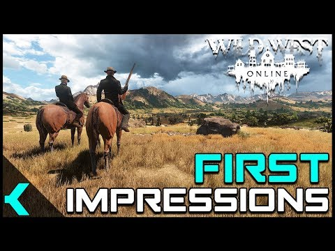 Wild West Online First Impressions | Great Potential!