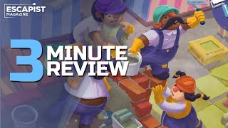 Tools Up! | Review in 3 Minutes (Video Game Video Review)