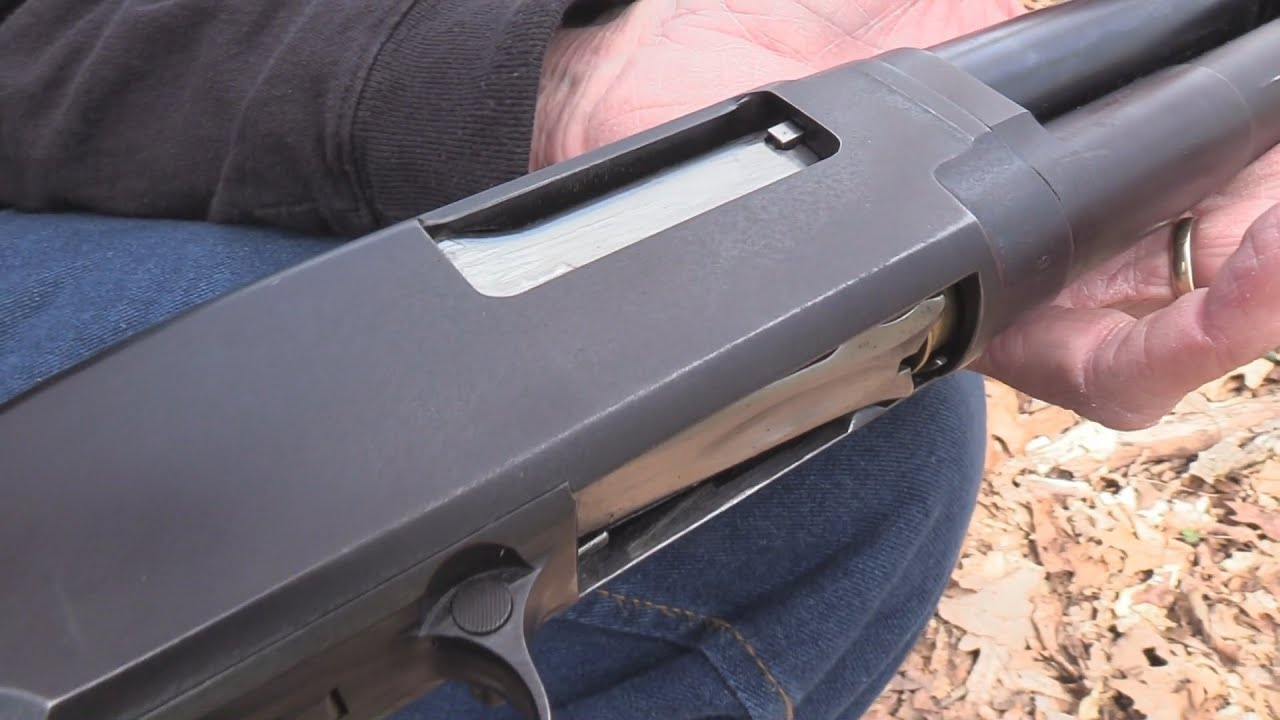 Winchester Model 12  Close-up