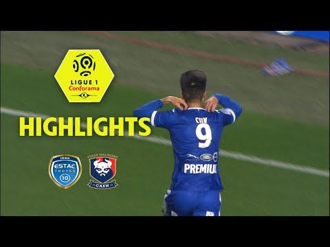 ESTAC Troyes - SM Caen ( 3-1 ) - Highlights - (ESTAC - SMC) / 2017-18