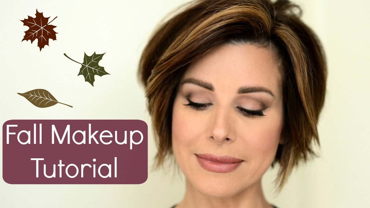 Trendy fall makeup tutorial with a classic spin youtube baditri Choice Image