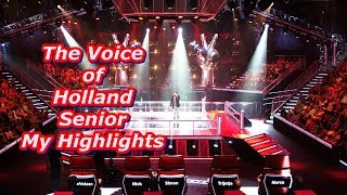 The Voice of Holland Senior - My Highlights