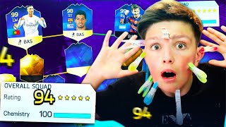 194 rated draft with a twist 99 9 impossible world record attempt fut draft challenge