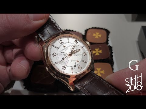 Vacheron Constantin: New Watches SIHH 2018.  FiftySix and More