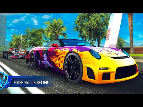 Asphalt 8, 9FF GT9 VMAX Vs MP4-25, R8 e-tron & Trion Nemesis, MULTIPLAYER