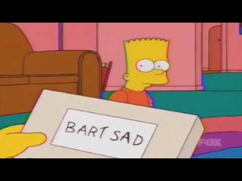 Bart Simpsons - SAD (MUSIC VIDEO) Falling Down