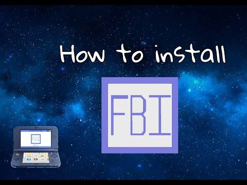 How to install FBI when running CFW.