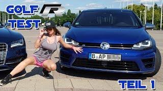 Aische Pervers | VW GOLF 7 R TEST Teil1