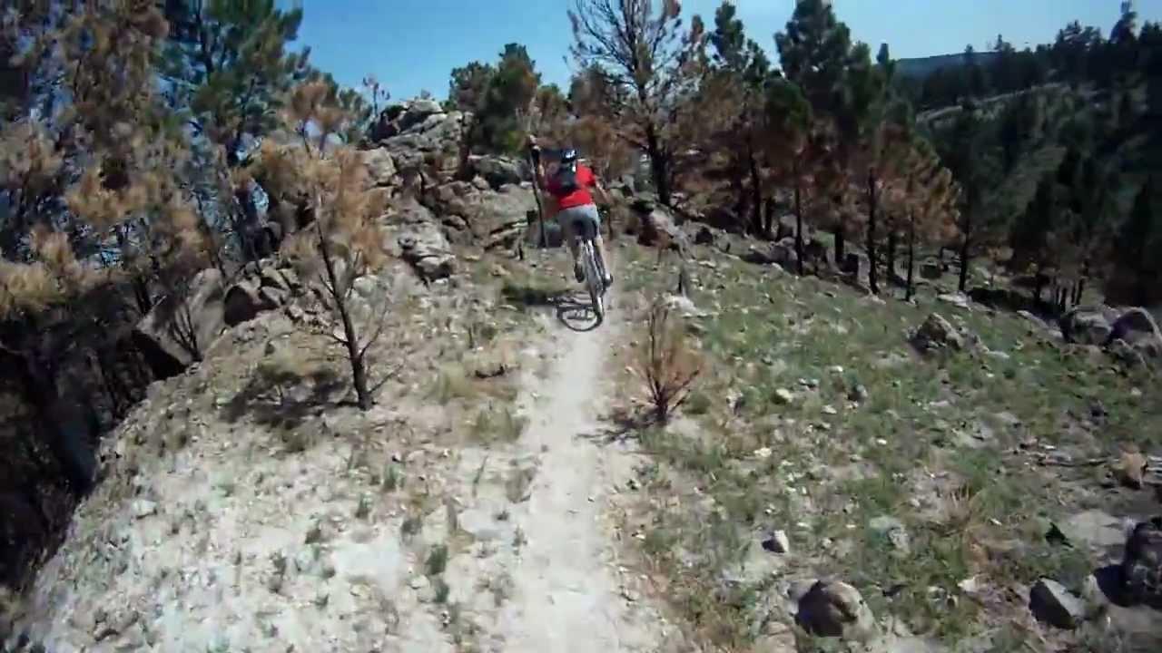 Black Hills Sd Mountain Biking Hlmp Youtube