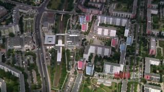 Dickes B. Berlin aus der Luft