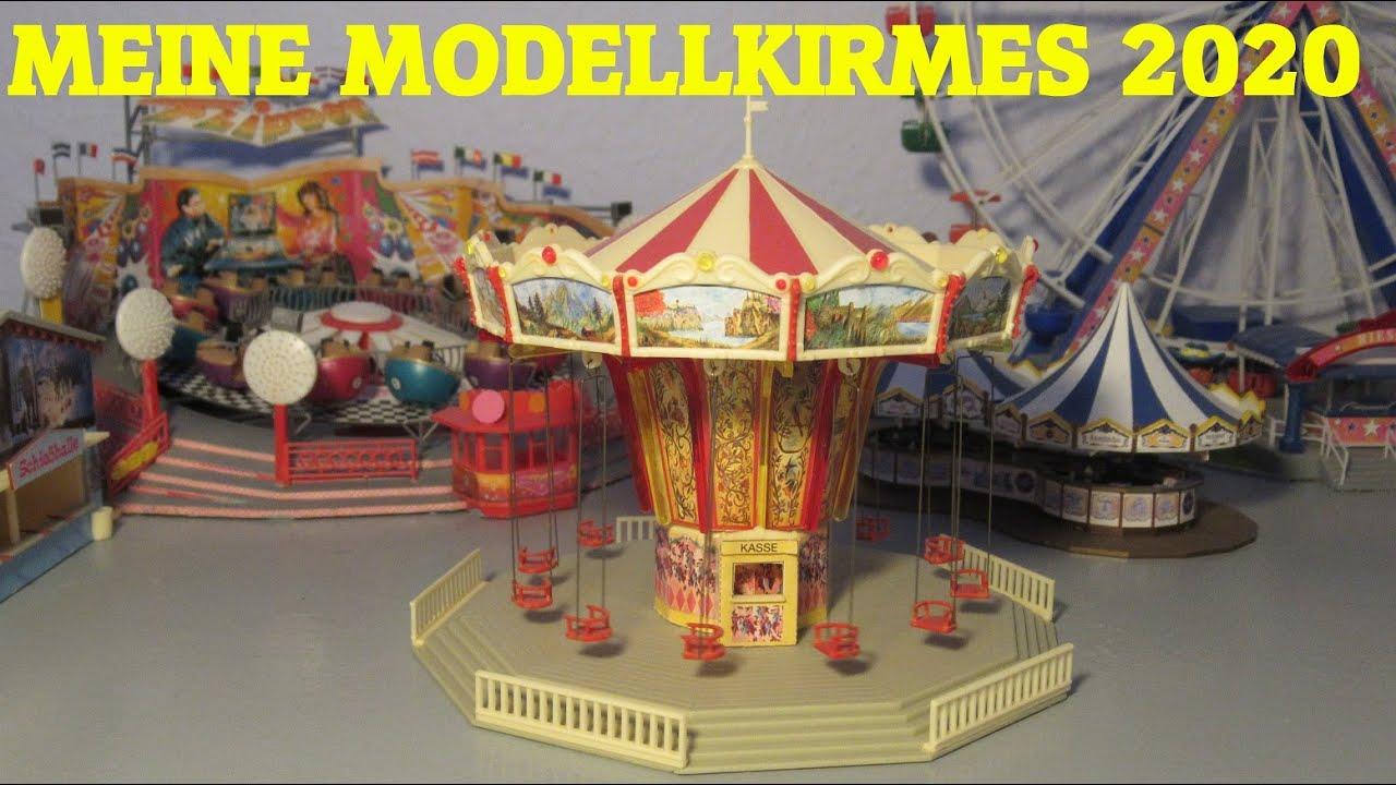 FALLER 140437 Kirmes Karussell Musik Express Bausatz H0