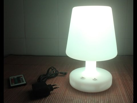 SLONGLIGHT SL-LML-1625 LED table lamp Rechargeable ...