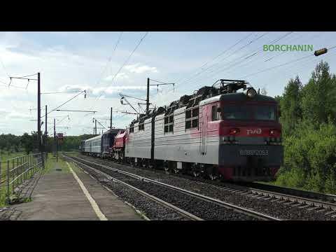 [4K] Восстановительные поезда и электрички ГЖД