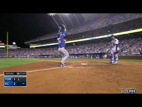 Bautista drills a solo homer to left-center