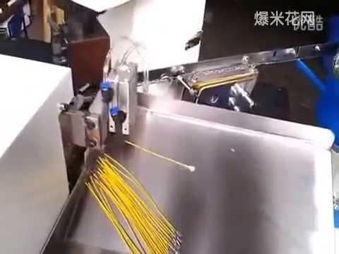Automatic crimping machine, wire processing machine - YouTube