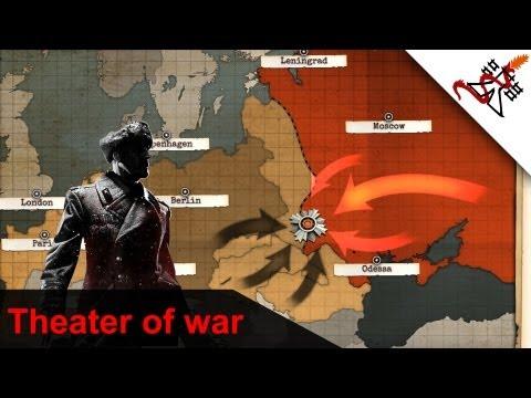 Company of Heroes 2 - Leningrad Approach | AI Battles | Theater of War [Hard/HD/1080]
