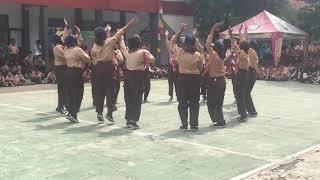 Yel yel SMPN 29 Bandung di Lomba Sout & Tech 2019
