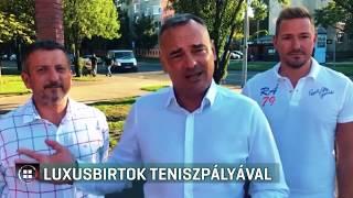 Teniszpályás, istállós, négyhektáros luxusfarmja van Borkai Zsolt feleségének 19-10-11