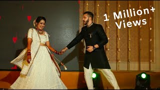Bride and Groom Dance - Sangeet Performance - Bride and Groom Face-off on the Sangeet Night