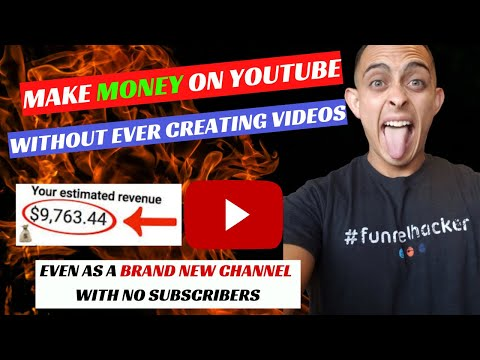 Make Money On YouTube Without Creating Videos (STEP BY STEP EASY)
