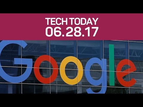 Google's massive fine, cyberattack hits Europe