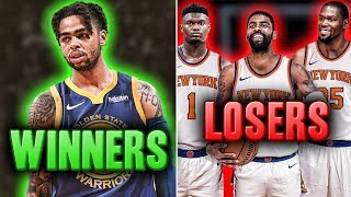 The Winners And Losers Of The 2019 NBA Free Agency