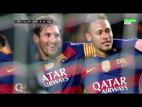 Lionel Messi vs Valencia (Home) 15-16 HD 720p (Copa del Rey) - English Commentary