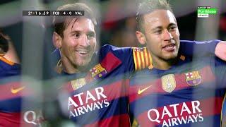 Lionel Messi vs Valencia (Home) 15-16 HD 720p (Copa del Rey) - English Commentary