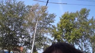 Путешественники из города Лилль (Франция) в Томске.(31.08.2012, Томск, Каштачная гора. С двумя путешественниками из Франции я говорил на ломанном английском, жестам..., 2012-08-31T18:21:50.000Z)