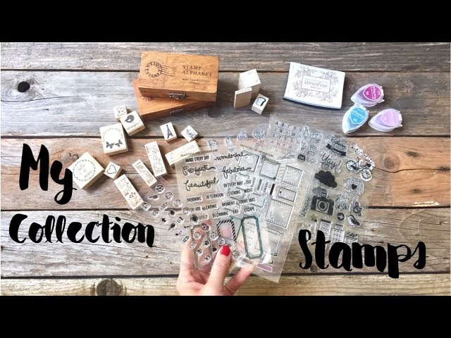 MY COLLECTION STAMPS ❤︎ ApuntoC