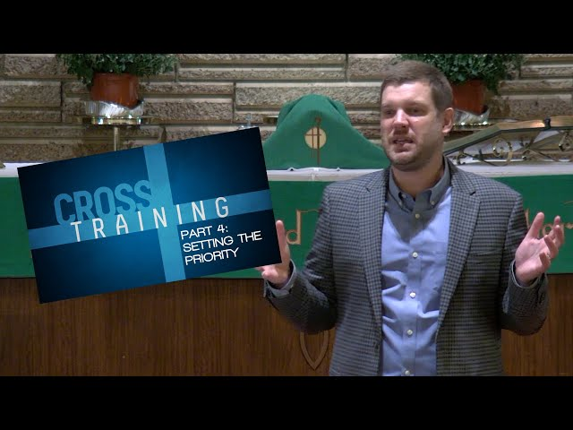 Cross Training: Setting the Priority