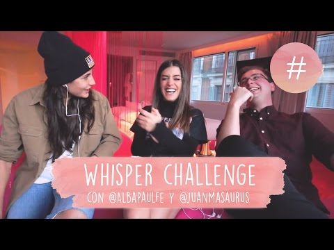 WHISPER CHALLENGE CON