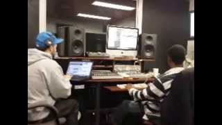 DosiaDidTheBeat Producer Video Blog - Lil Rue Studio Sessions