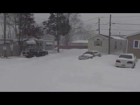 Edison Mobile Estates Blizzard