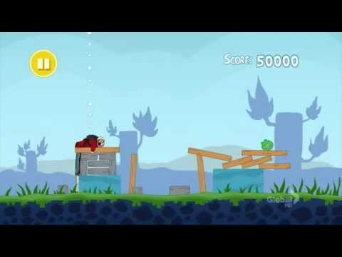 Family Guy - Peter Plays Angry Birds