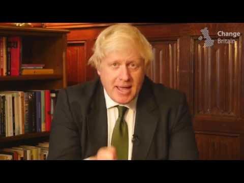 Boris Johnson: Help us Change Britain