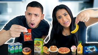 EATING ONLY TINY FOODS FOR 24 HOURS!