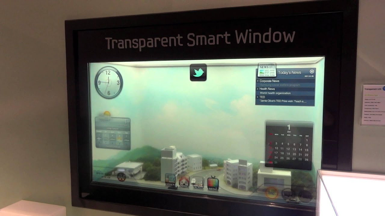 Samsung Transpa Smart Window
