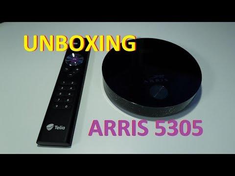 Telia 4K UHD digiboks - Arris 5305 unboxing (ENG subs)
