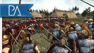 IS THIS THE GREATEST SIEGE BATTLE EVER? - Total War: Rome 2
