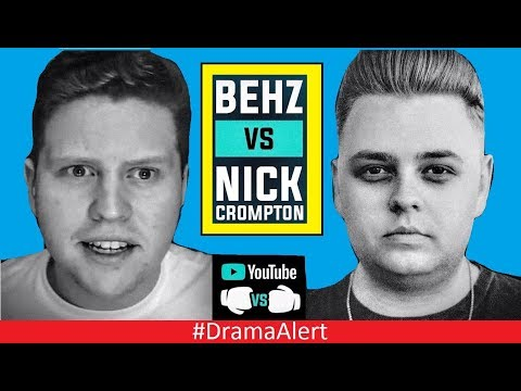 Nick Crompton vs Behzinga Boxing CONFIRMED! (✔) #DramaAlert Fouseytube EXPOSED? Woahhvicky FIRE!