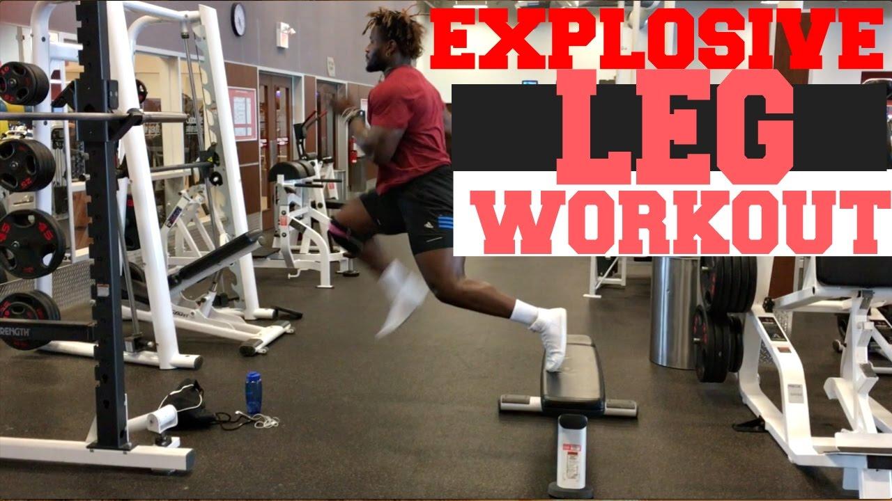 EXPLOSIVE LEG WORKOUT - Mass Training For Men & Women