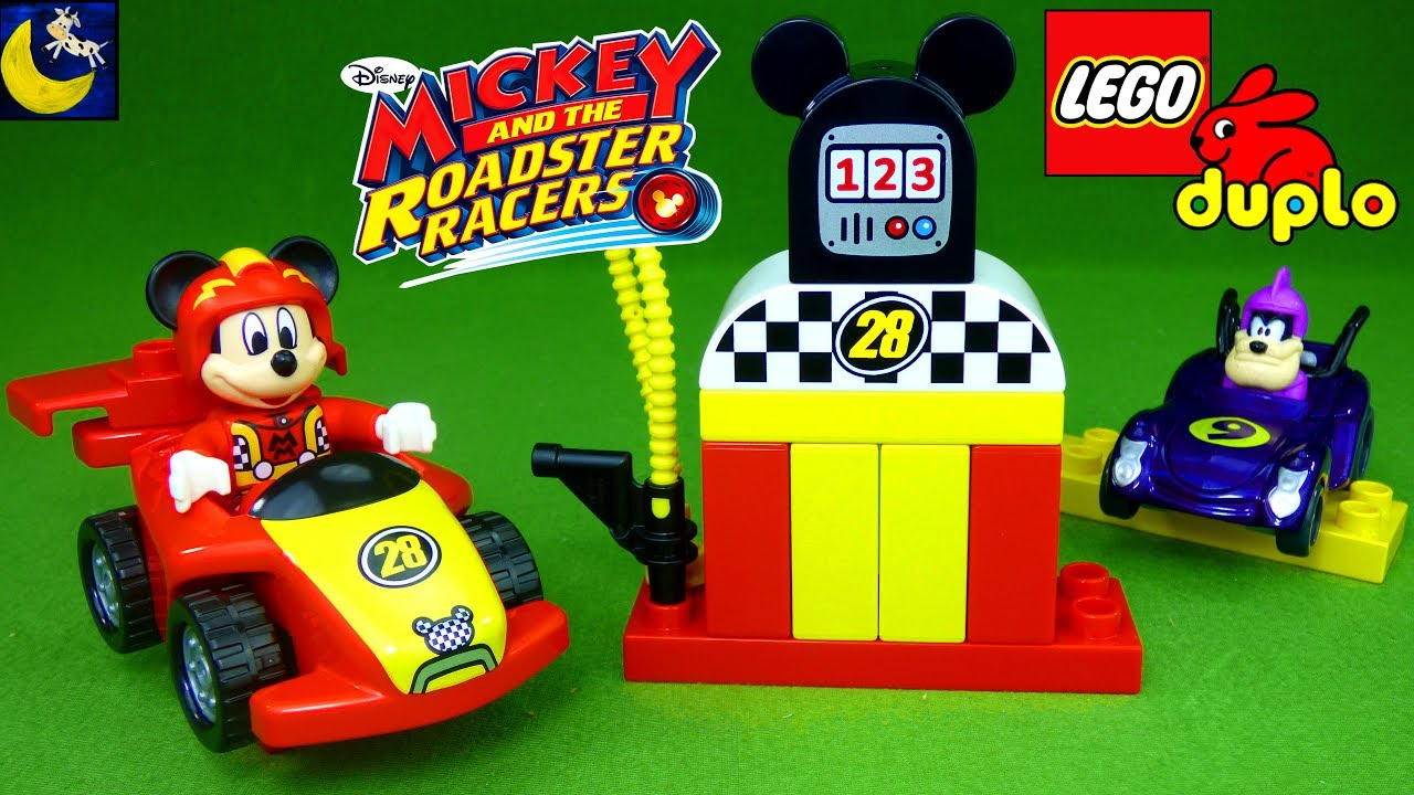 Onwijs Lego Duplo Mickey and the Roadster Racers Play Set 2017 New Toys XU-53