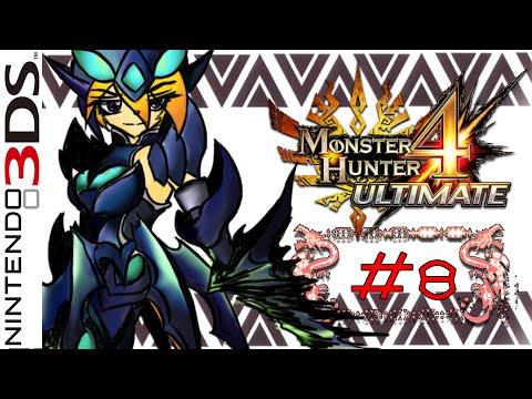 LZ : Monster Hunter 4 Ultimate #8 [Tackling a Tetsucabra]