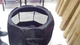 Тентовый вольер для собак и кошек - 120 на 120 на 60 см