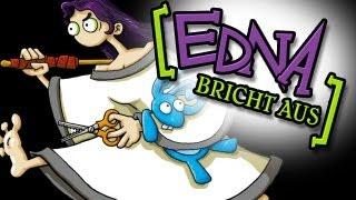 Let's Play Edna Bricht Aus #001 [Deutsch] - Willkommen in der Klapse